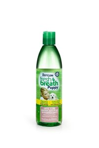 Tropiclean breath puppy water additive. 473 ML.