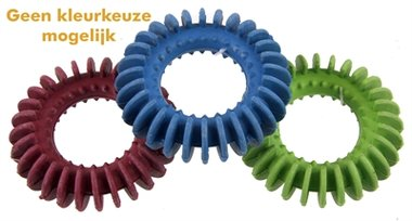Rubber ribbelring