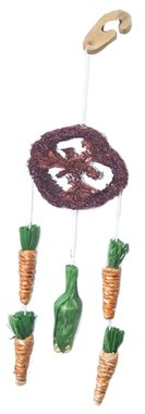 Happy pet natural loofah dream catcher