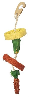 Happy pet natural loofah hangspeelgoed