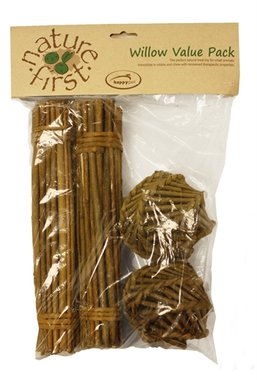 Happy pet wilgen value pack 2 sticks/2 balls