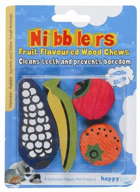 Happy pet nibblers fruit