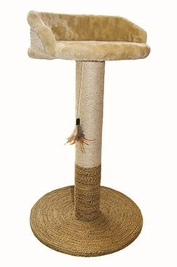 Happy pet nature first krabpaal ashdown met ligplek beige