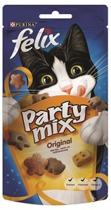 8x felix snack party mix original