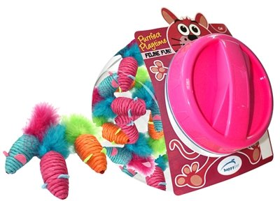 24x happy pet carnaval muis display