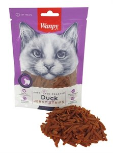 Wanpy soft oven-roasted duck jerky strips