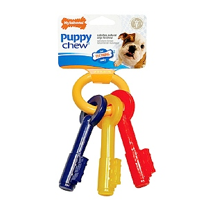 Flexible puppy theeting keys sleutelbos Large (16 kg)