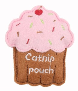 ! happy pet catnip cupcake